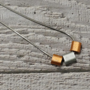 steel unisex necklace