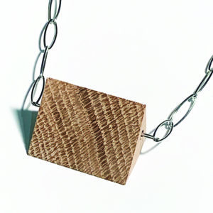 walnut pendant