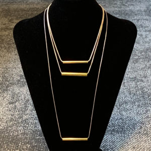 Brass and Silver pendants